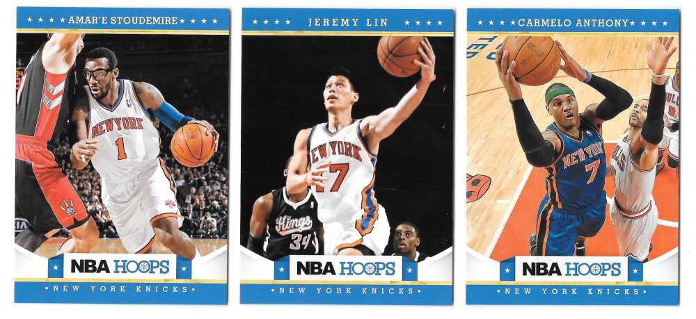 2012-13 NBA Hoops Team Set - New York Knicks