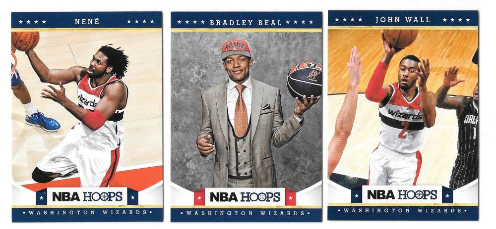 2012-13 NBA Hoops Team Set - Washington Wizards