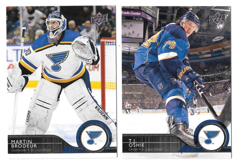 2014-15 Upper Deck (Base) Hockey Team Set - St. Louis Blues