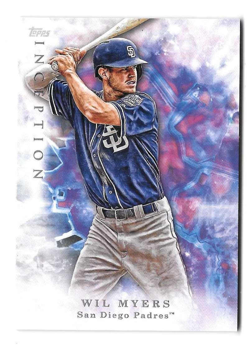 2017 Topps Inception - SAN DIEGO PADRES