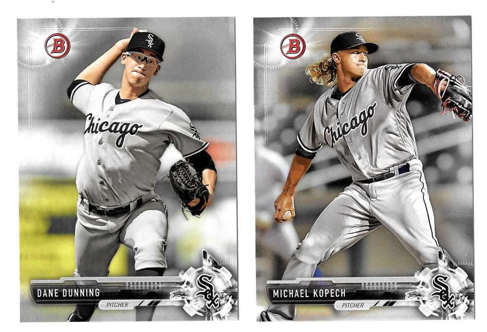 2017 Bowman Prospects - CHICAGO WHITE SOX