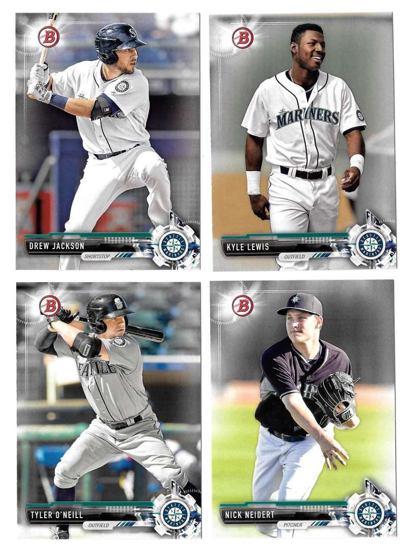2017 Bowman Prospects - SEATTLE MARINERS