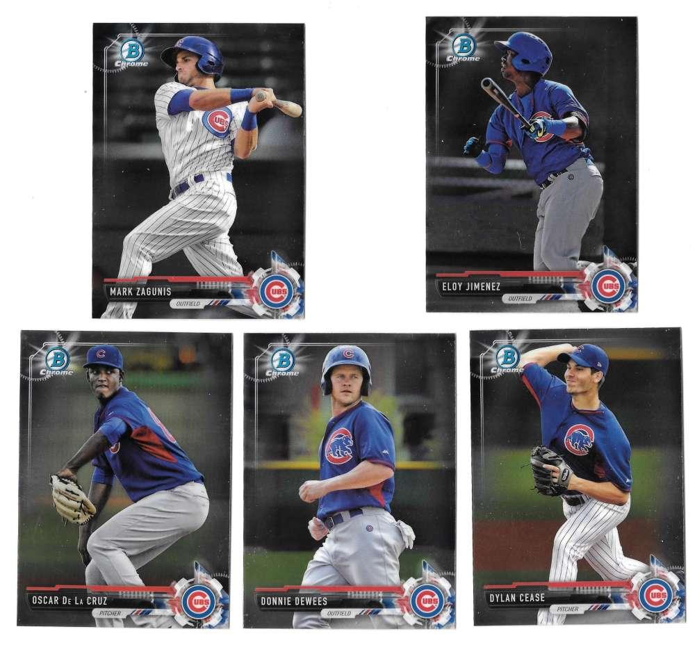 2017 Bowman Chrome Prospects - CHICAGO CUBS
