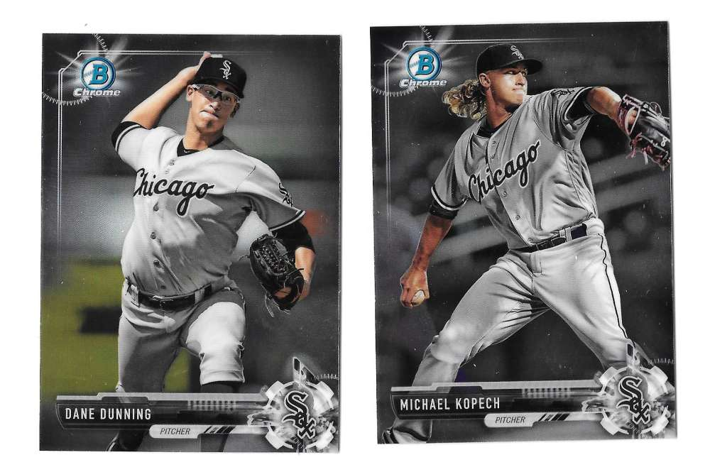 2017 Bowman Chrome Prospects - CHICAGO WHITE SOX