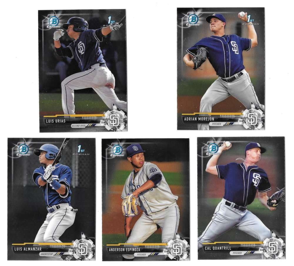 2017 Bowman Chrome Prospects - SAN DIEGO PADRES
