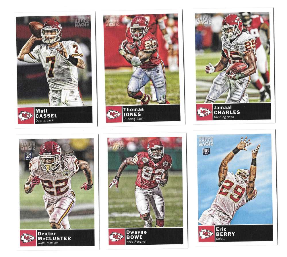 2010 Topps Magic (1-248) Football - KANSAS CITY CHIEFS