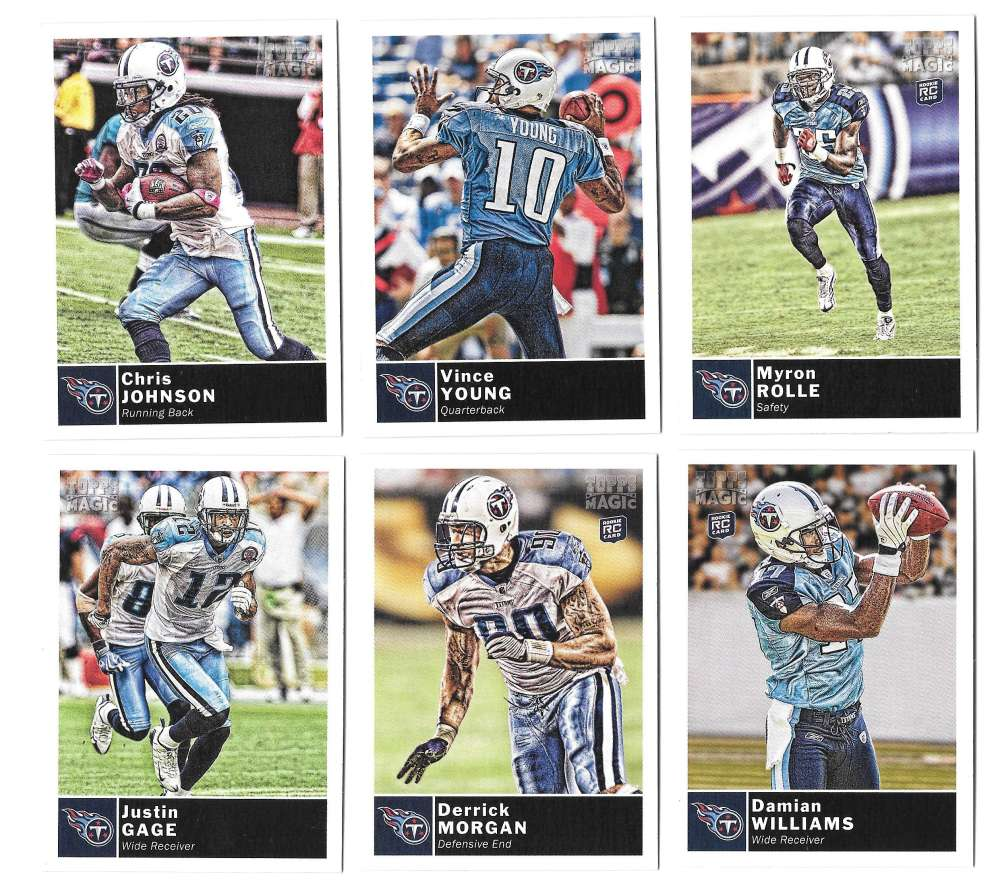 2010 Topps Magic (1-248) Football - TENNESSEE TITANS