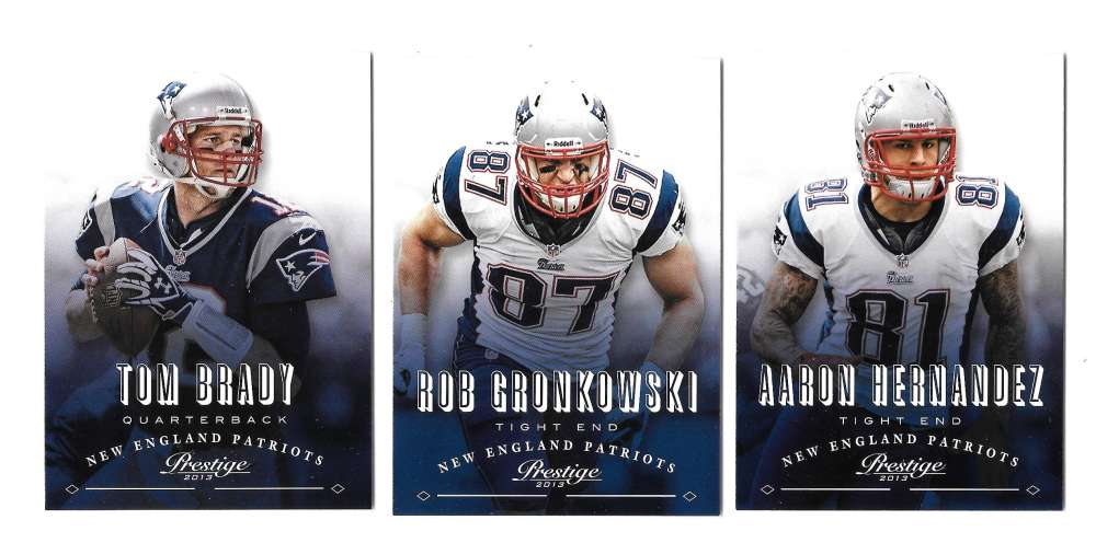2013 Prestige Football (1-300) - NEW ENGLAND PATRIOTS