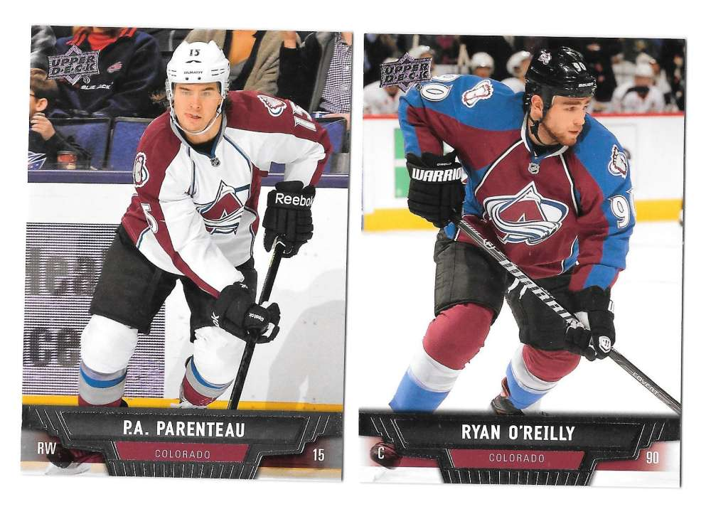 2013-14 Upper Deck (Base) Hockey Team Set - Colorado Avalanche