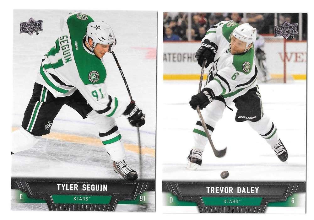 2013-14 Upper Deck (Base) Hockey Team Set - Dallas Stars