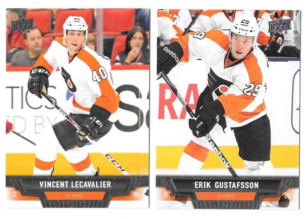 2013-14 Upper Deck (Base) Hockey Team Set - Philadelphia Flyers