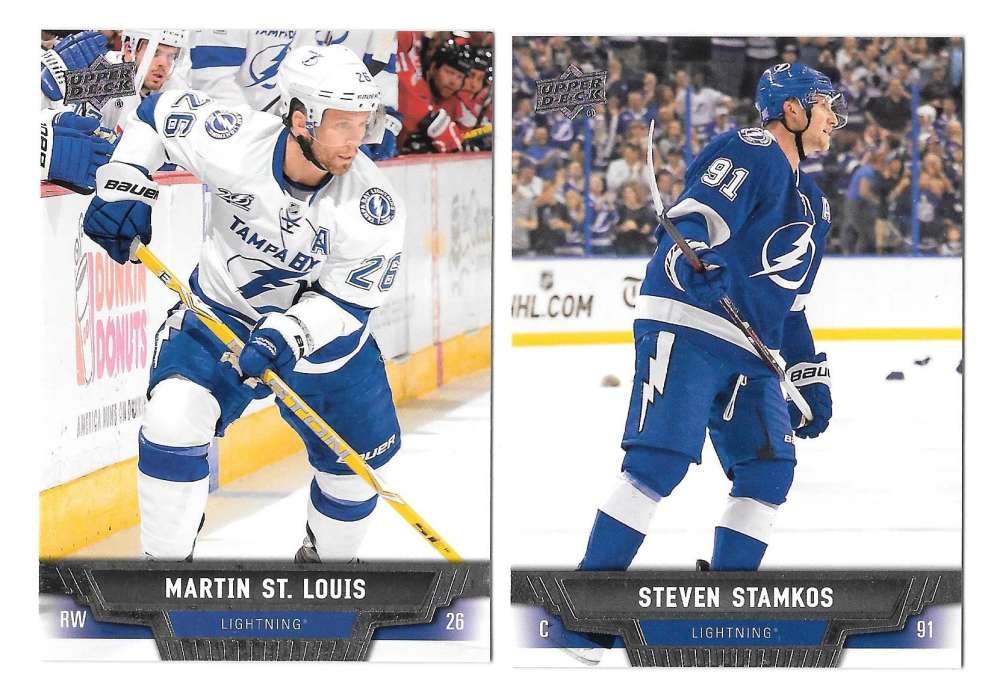 2013-14 Upper Deck (Base) Hockey Team Set - Tampa Bay Lightning