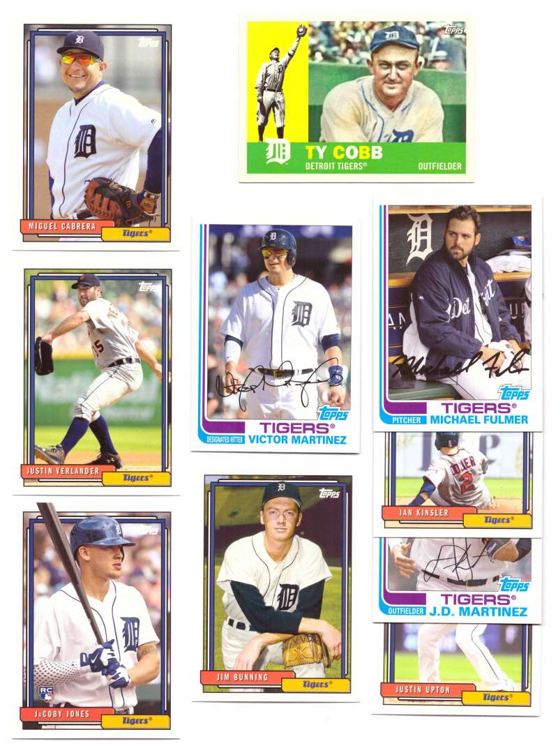 2017 Topps Archives - DETROIT TIGERS Team Set