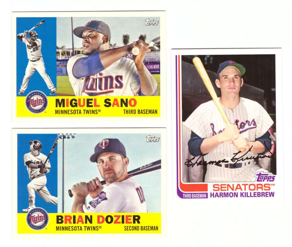2017 Topps Archives - MINNESOTA TWINS Team Set