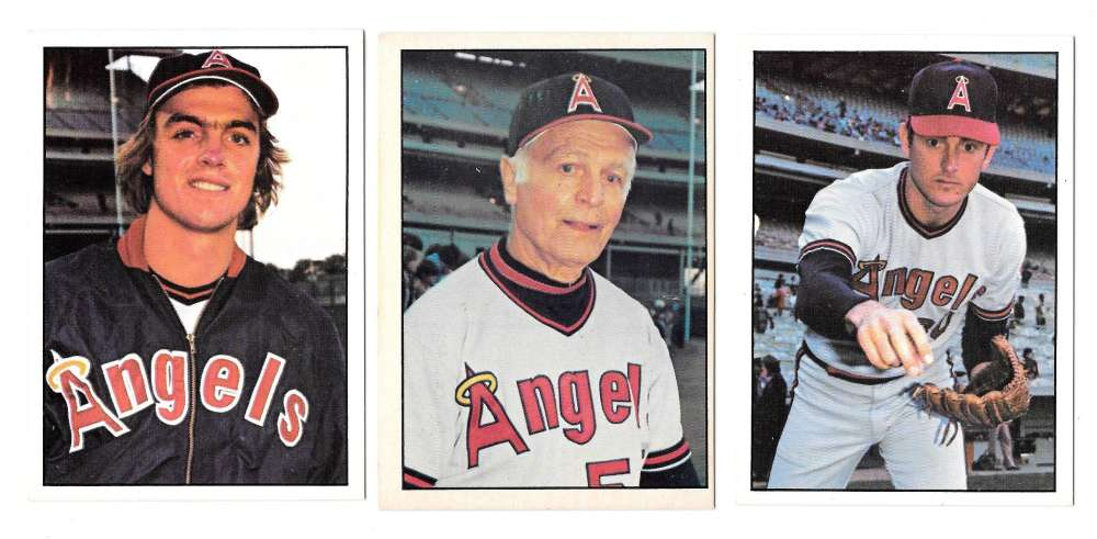 1976 SSPC - CALIFORNIA ANGELS Team Set