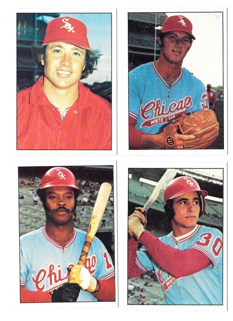1976 SSPC - CHICAGO WHITE SOX Team Set