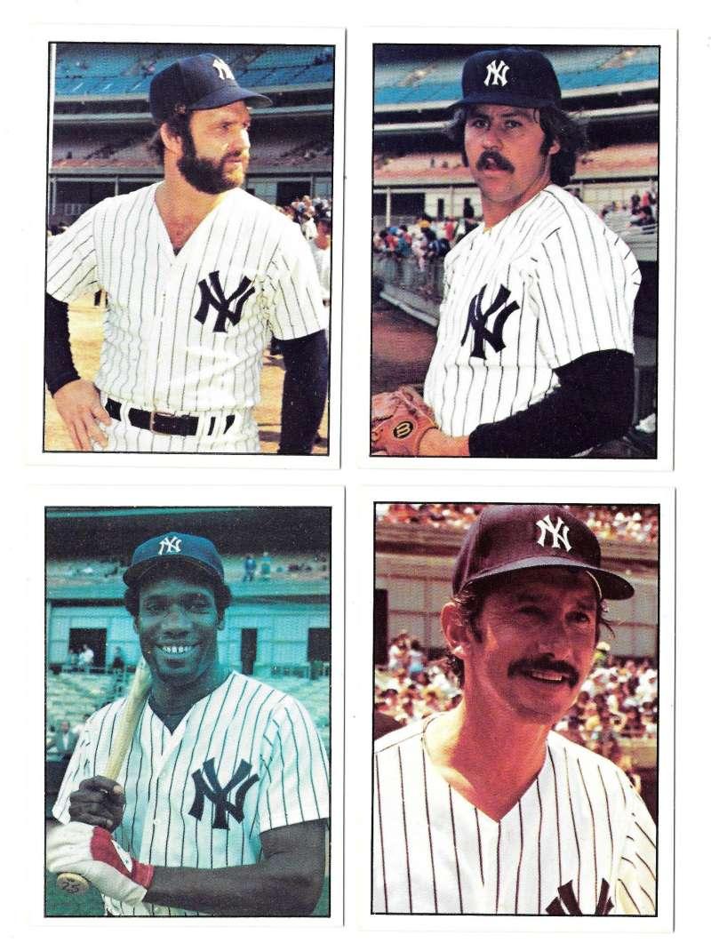 1976 SSPC - NEW YORK YANKEES Team Set