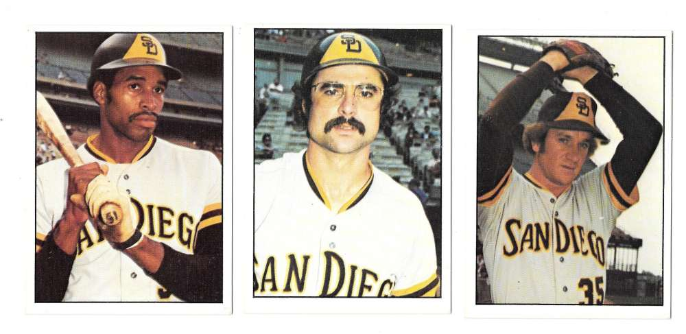1976 SSPC - SAN DIEGO PADRES Team Set