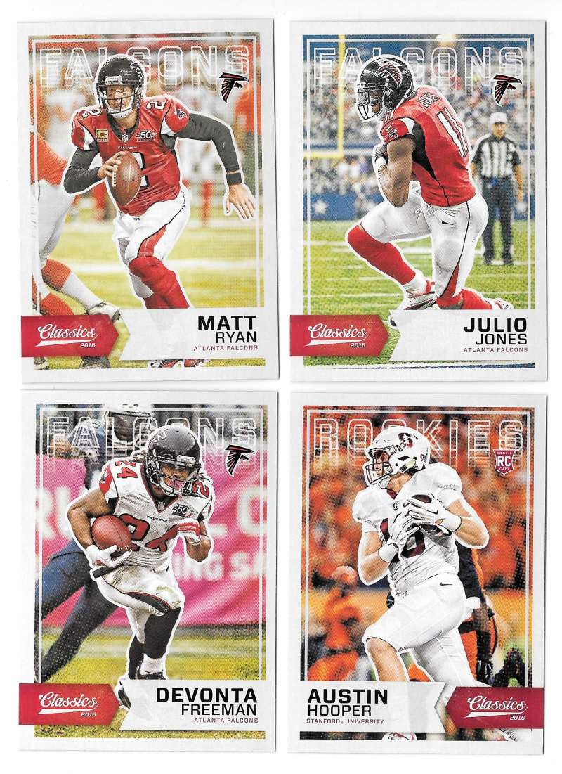 2016 Panini Classics (1-300) Football Team Set - ATLANTA FALCONS