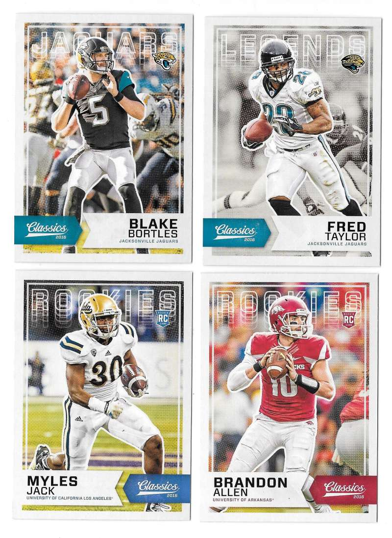 2016 Panini Classics (1-300) Football Team Set - JACKSONVILLE JAGUARS