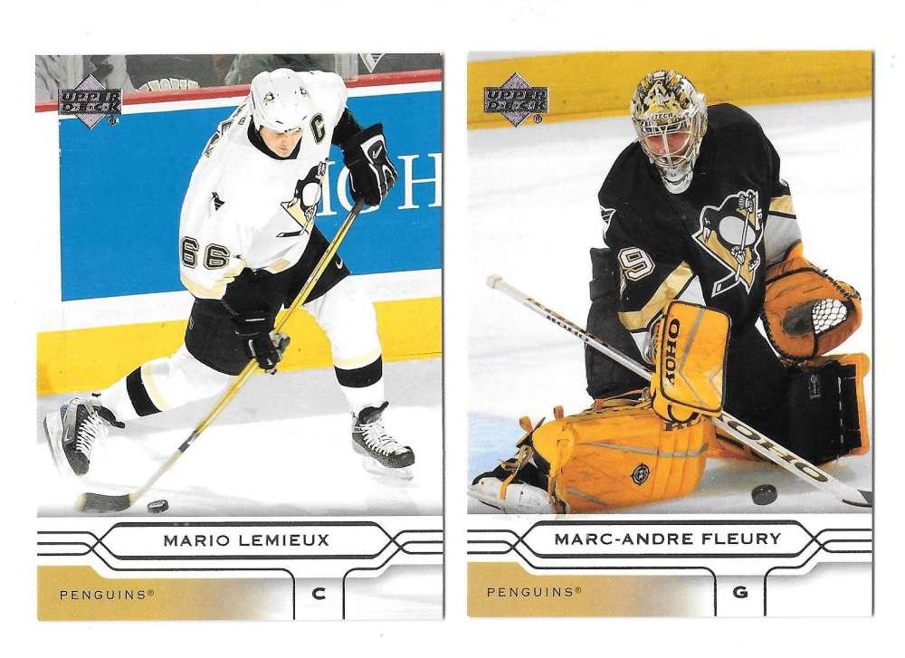 2004-05 Upper Deck Base (1-180) Hockey Team Set - Pittsburgh Penguins