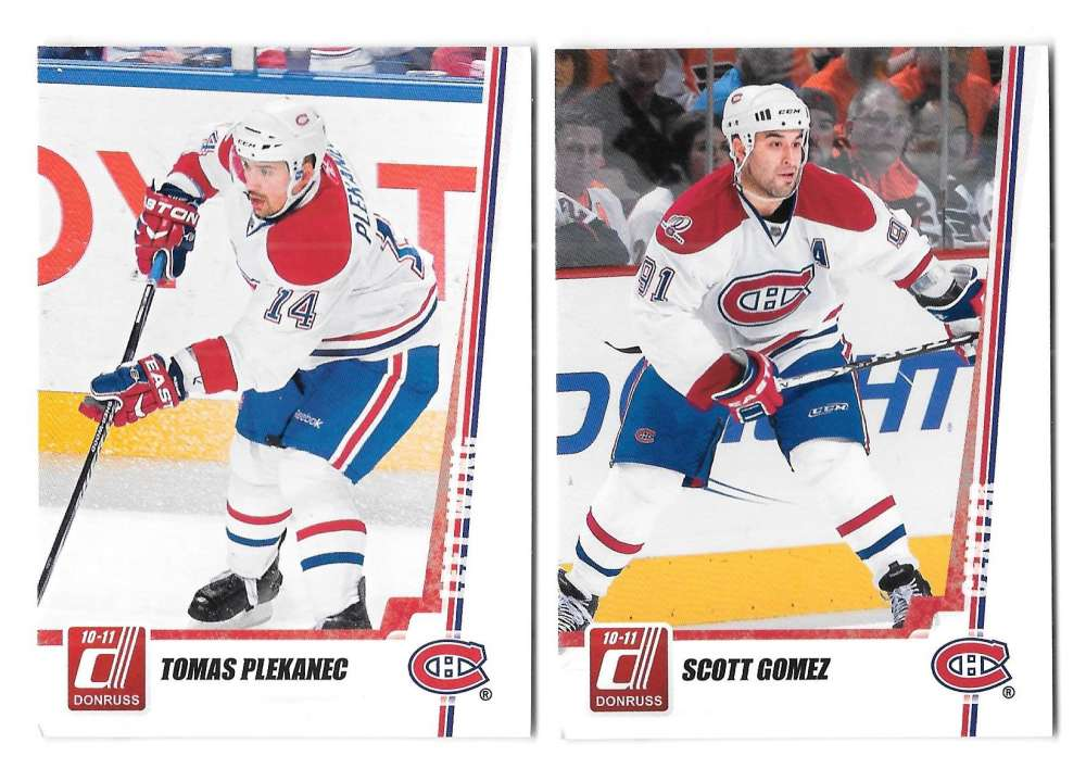 2010-11 Donruss (1-250) Hockey Team Set - Montreal Canadiens
