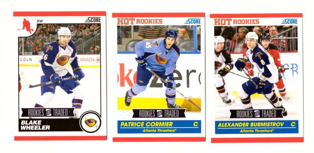 2010-11 Score Rookies and Traded Hockey - Atlanta Thrashers
