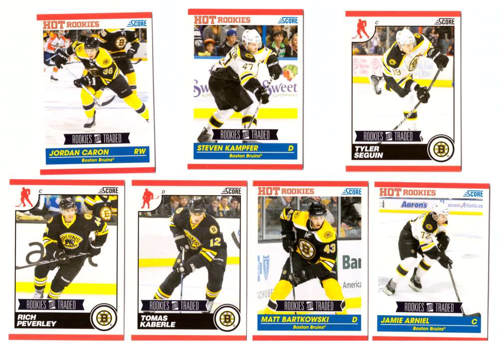 2010-11 Score Rookies and Traded Hockey - Boston Bruins