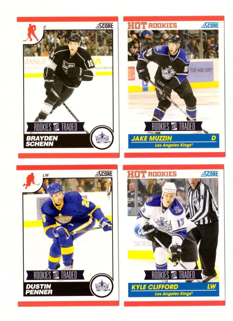 2010-11 Score Rookies and Traded Hockey - Los Angeles Kings