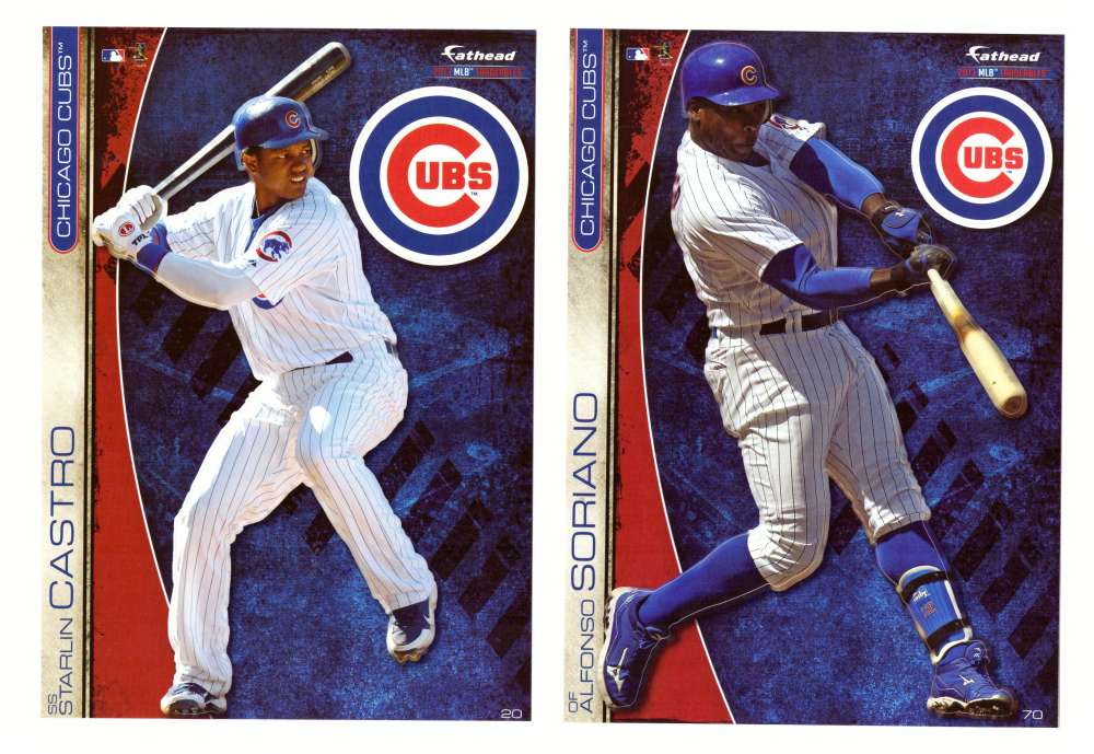 2013 Fathead Tradeables (5x7) - CHICAGO CUBS