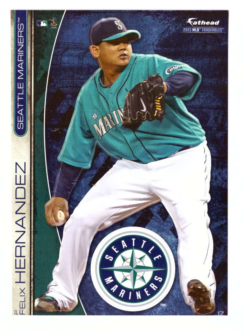 2013 Fathead Tradeables (5x7) - SEATTLE MARINERS