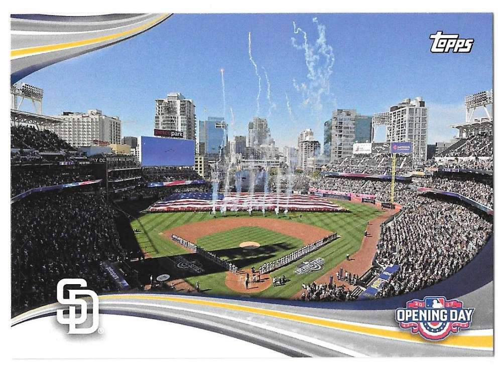 2017 Topps Opening Day Opening Day - SAN DIEGO PADRES