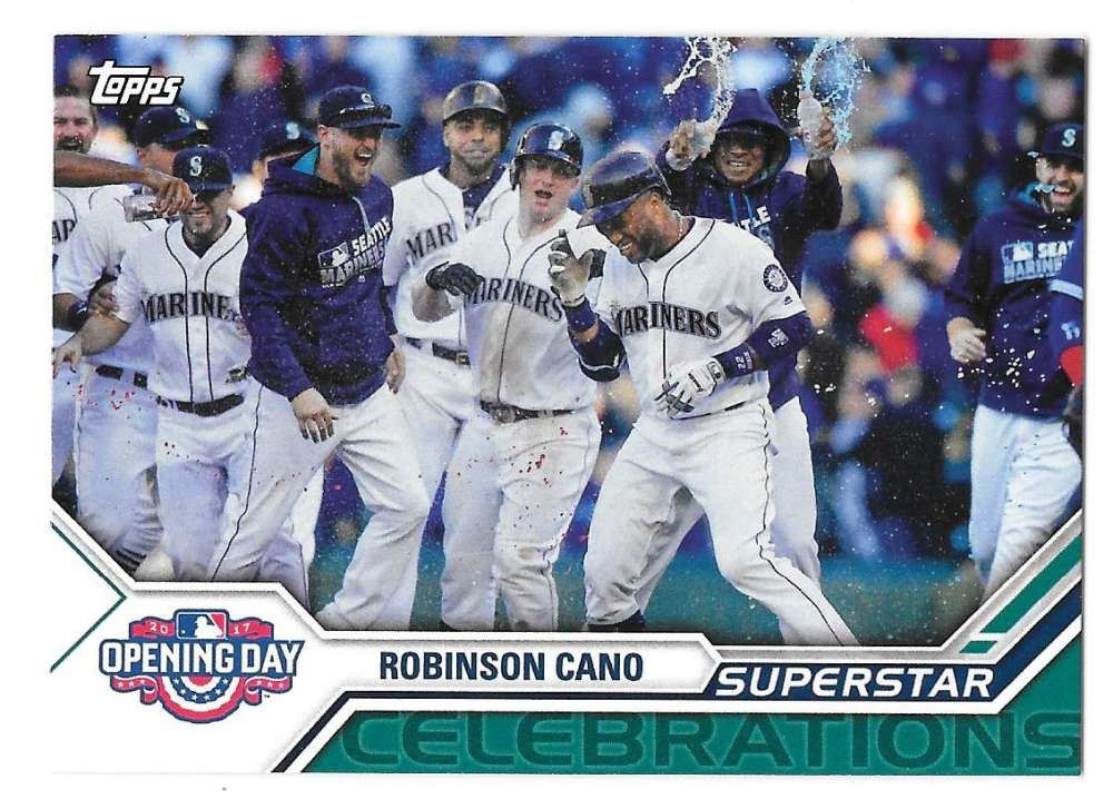 2017 Topps Opening Day Superstar Celebrations - SEATTLE MARINERS