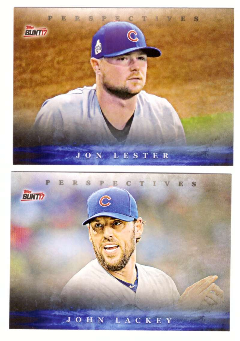 2017 Topps Bunt Perspectives - CHICAGO CUBS