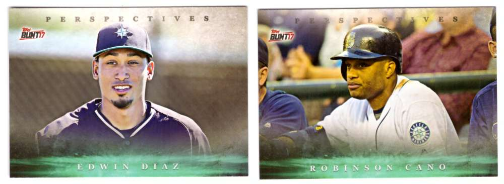 2017 Topps Bunt Perspectives - SEATTLE MARINERS