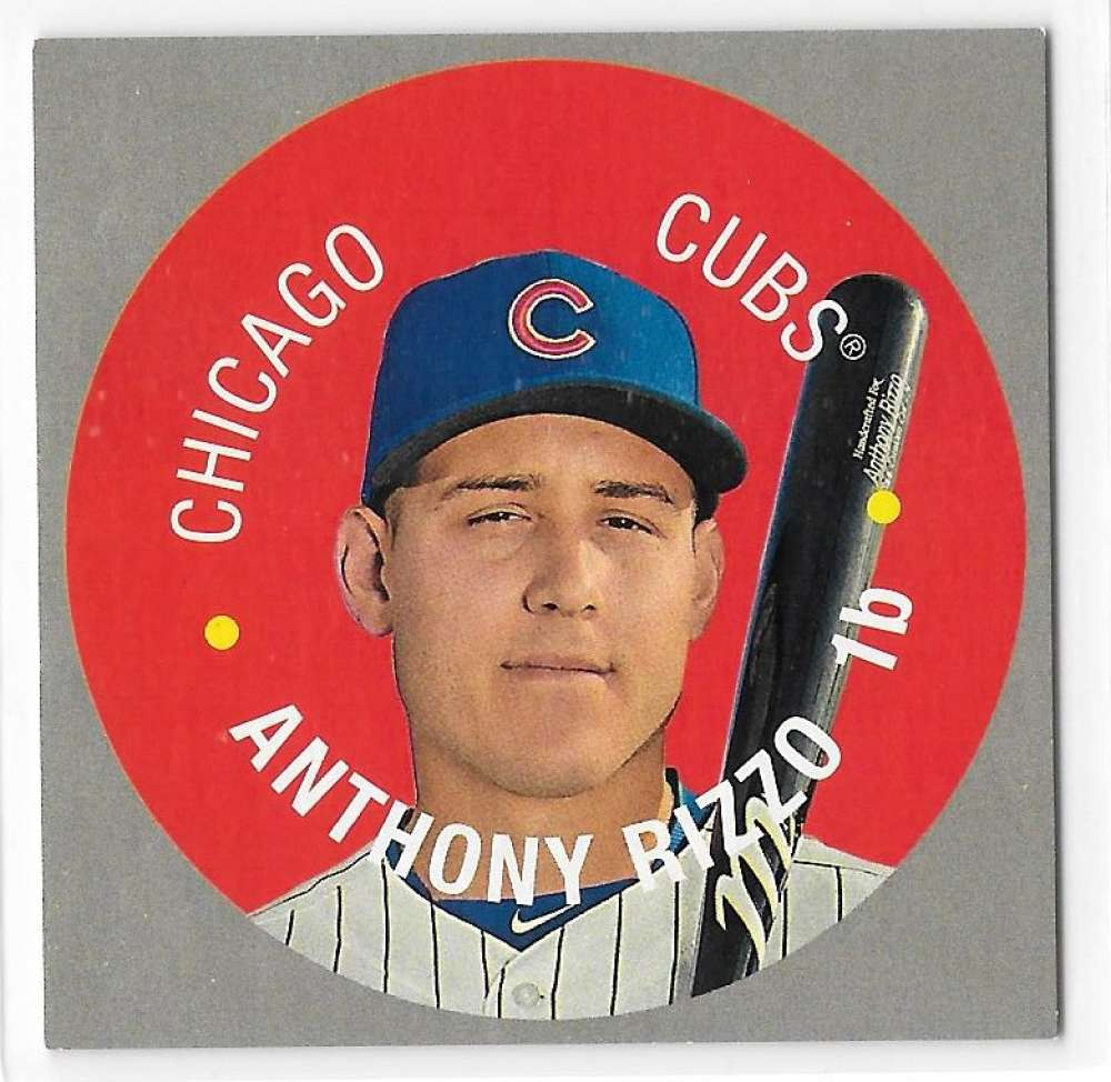 2017 Topps Heritage Discs - CHICAGO CUBS