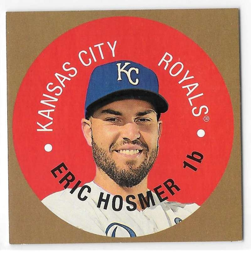 2017 Topps Heritage Discs - KANSAS CITY ROYALS