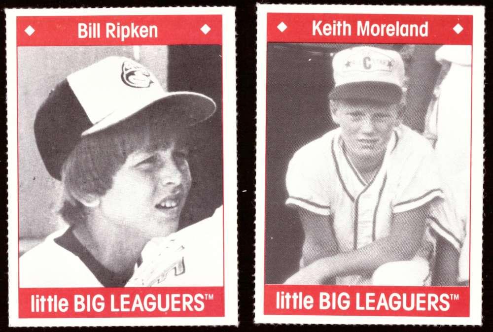 1990 Little Big Leaguers - BALTIMORE ORIOLES Team Set