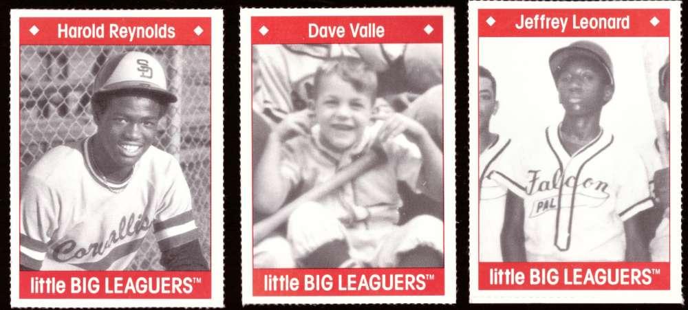 1990 Little Big Leaguers - SEATTLE MARINERS Team Set