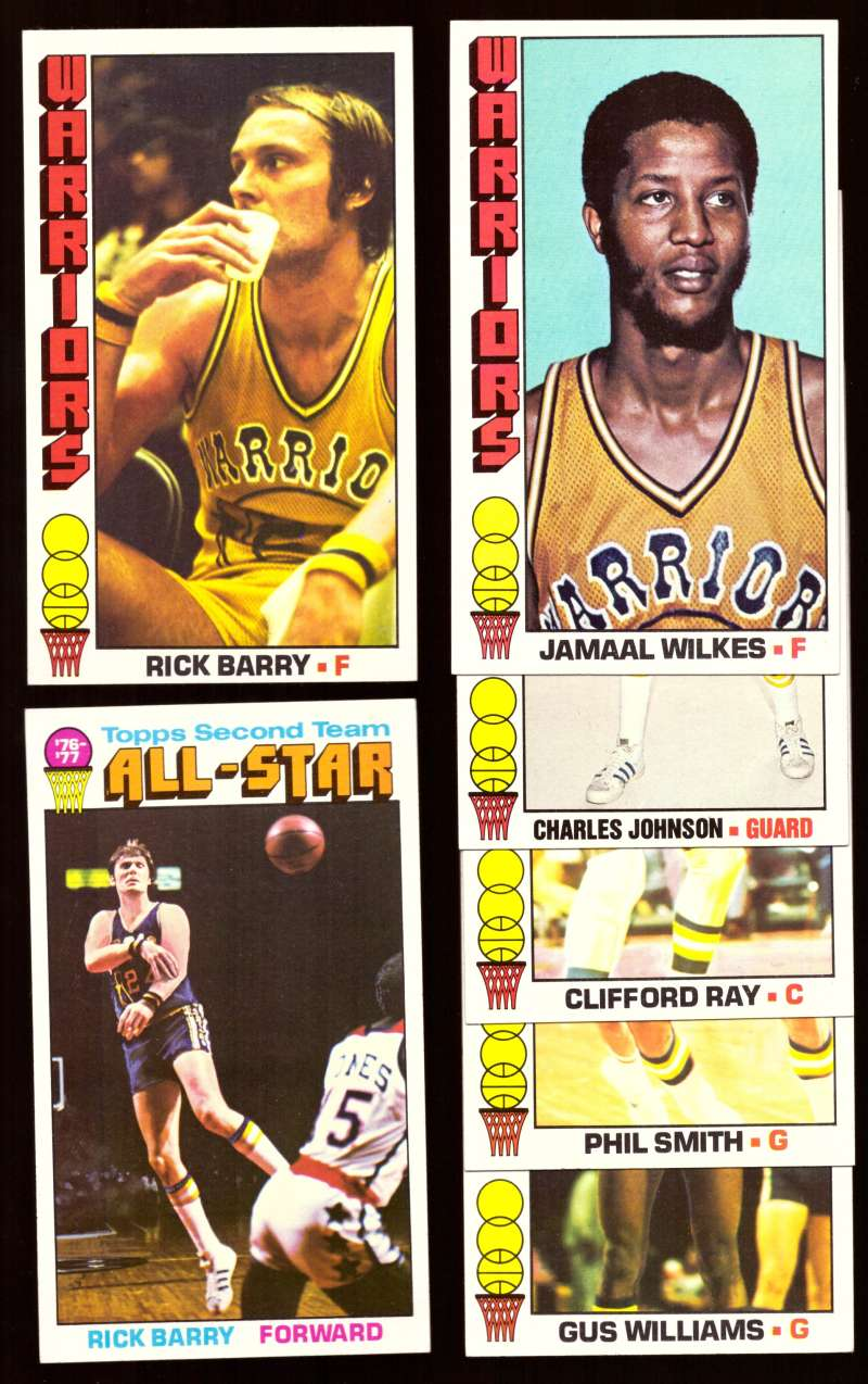 1976-77 Topps Basketball Team Set - Golden State Warriors