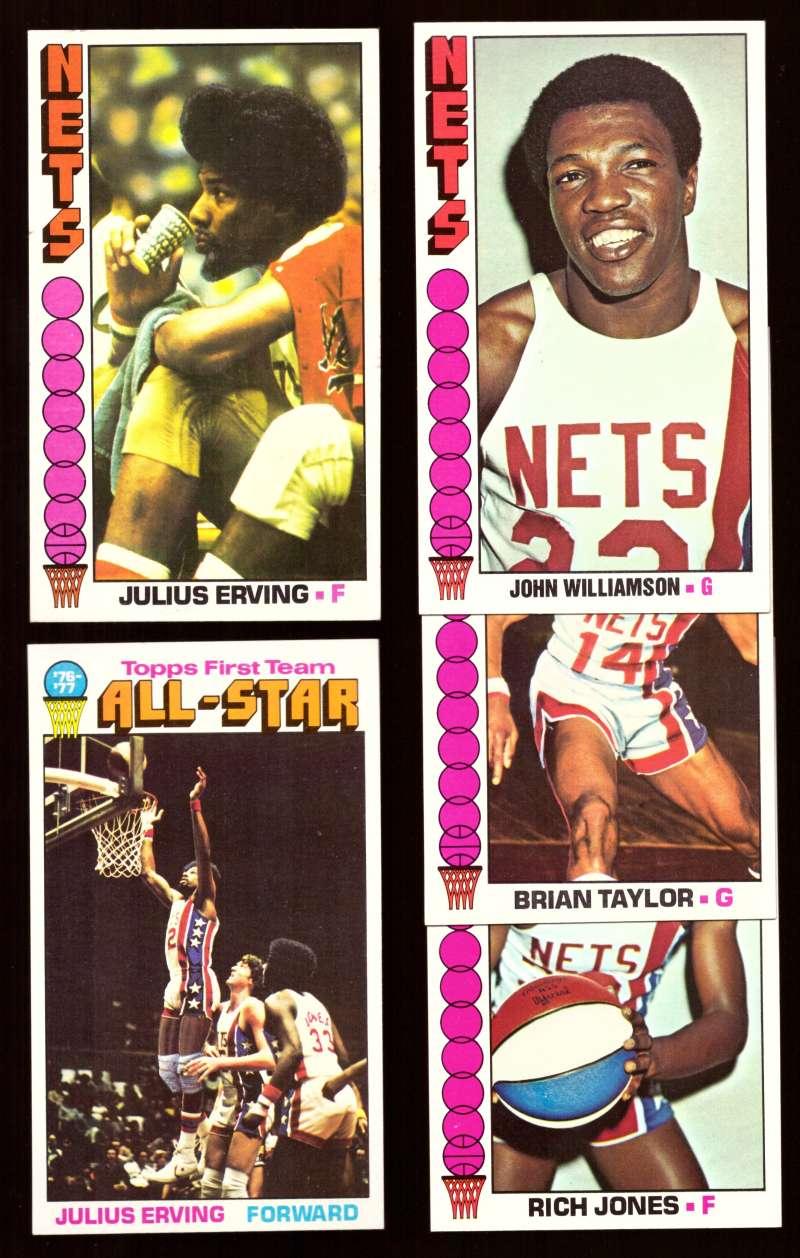 1976-77 Topps Basketball Team Set - New York Nets
