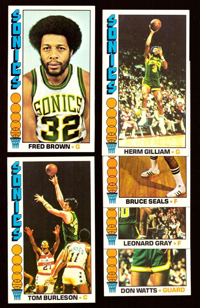 Teamsets4u Item 1976 77 Topps Basketball Team Set