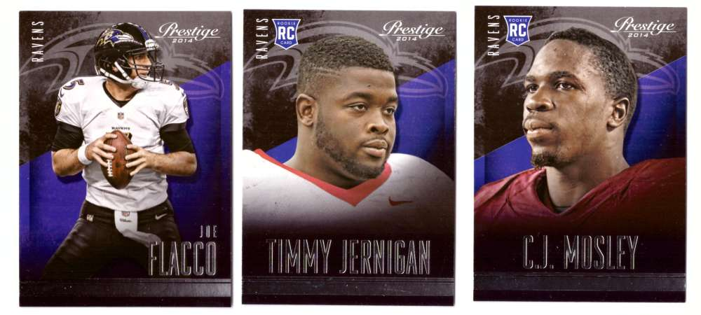 2014 Panini Prestige (1-300) Football Team Set - BALTIMORE RAVENS