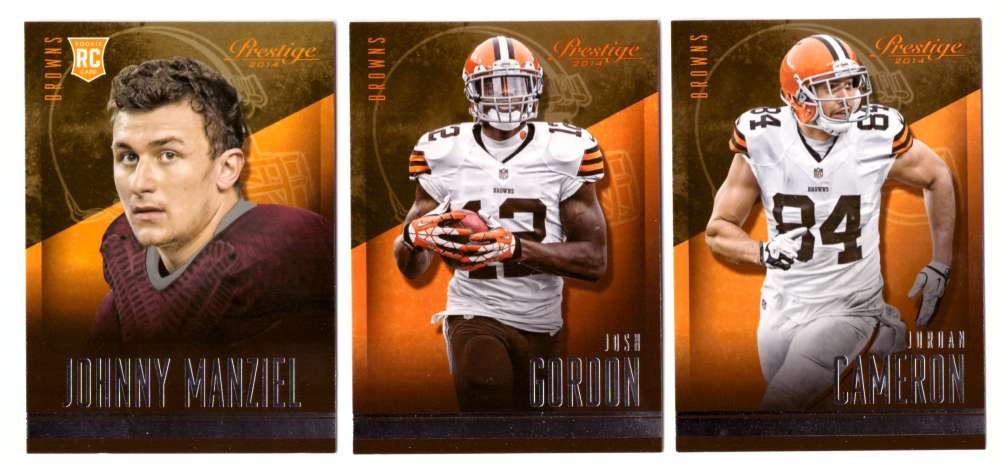 2014 Panini Prestige (1-300) Football Team Set - CLEVELAND BROWNS