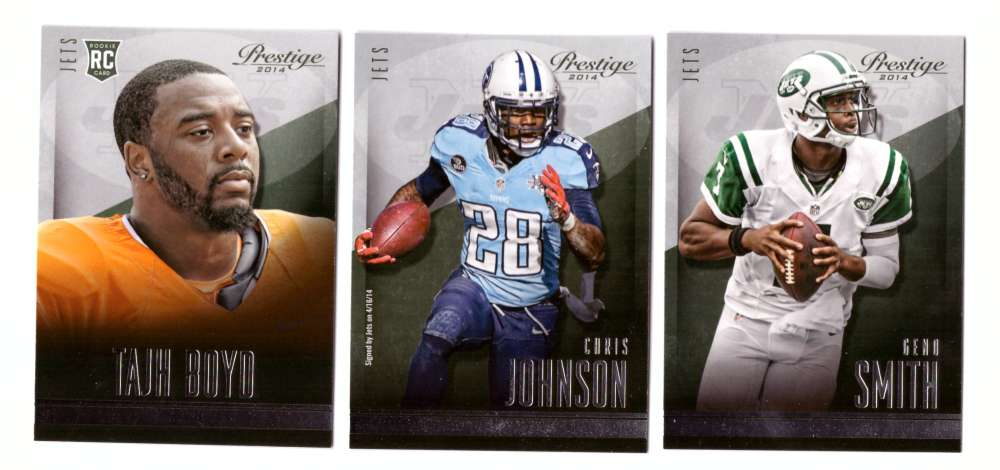 2014 Panini Prestige (1-300) Football Team Set - NEW YORK JETS