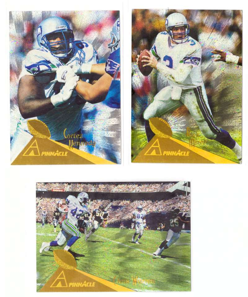 1994 Pinnacle Football Trophy Collection - SEATTLE SEAHAWKS