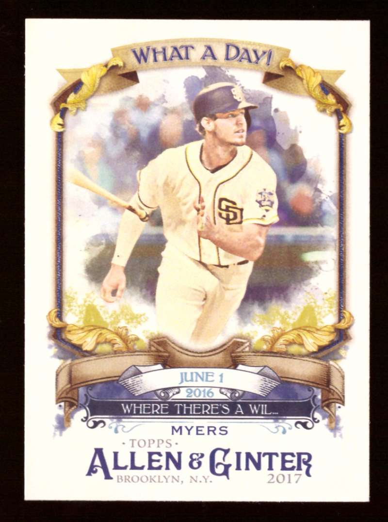 2017 Topps Allen and Ginter What a Day - SAN DIEGO PADRES