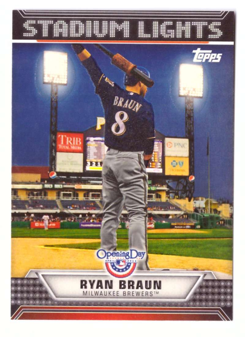 2011 Topps Opening Day Stadium Lights - BREWERS
