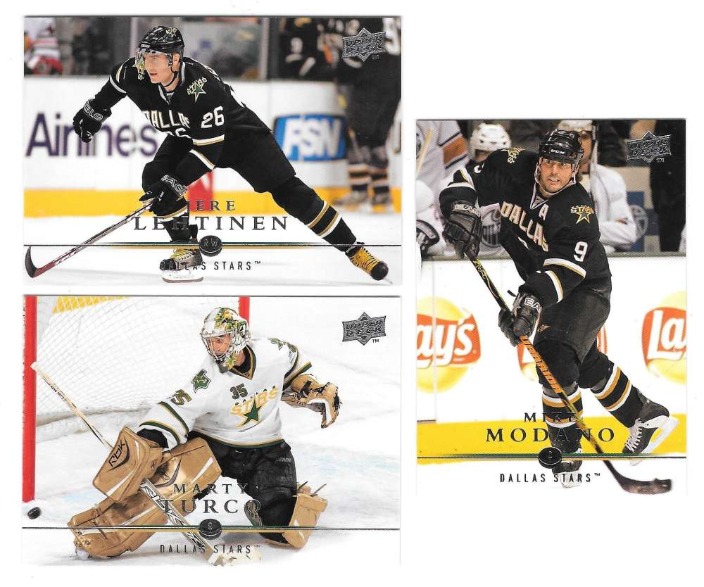 2008-09 Upper Deck (Base) Hockey Team Set - Dallas Stars
