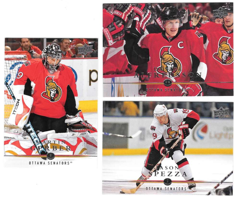 2008-09 Upper Deck (Base) Hockey Team Set - Ottawa Senators